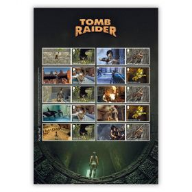 Tomb Raider Collector's Sheet