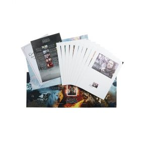 Aw072 Royal Mail Game Of Thrones Stamp Art Souvenir Folder 1