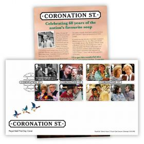 Coronation Street Stamp Souvenir