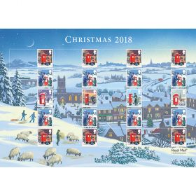 Royal Mail Christmas 2017 Presentation Pack