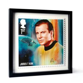 Star Trek Framed Enlarged Print - Kirk