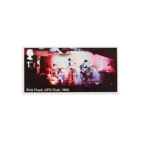 Royal Mail Pink Floyd Stamp Sheet