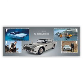 James Bond Q Branch Miniature Sheet