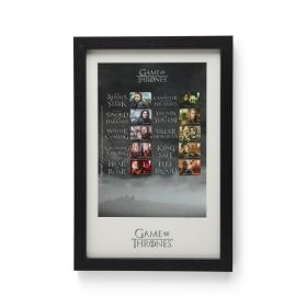 Game of Thrones™ Framed Collector's Sheet