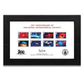 Visions of the Universe Framed and Signed stamp set – Limited Edition