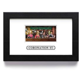 Coronation Street Framed Stamp Sheet