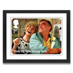Coronation Street Enlarged Print: Jack and Vera