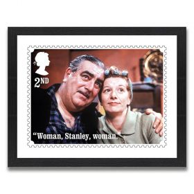 Coronation Street Enlarged Print: Hilda and Stan