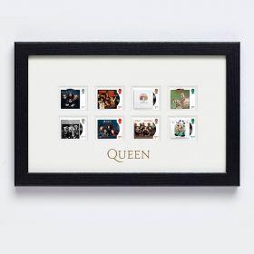 Queen Framed Stamp Set