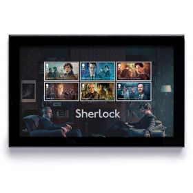 Sherlock Framed Stamps