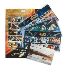 Royal Mail STAR WARS 2015 Tie Fighter Bundle