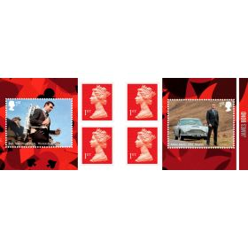 James Bond Retail Stamp Book