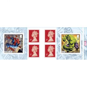 MARVEL Retail Stamp Book