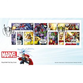 MARVEL Miniature Sheet Souvenir Cover