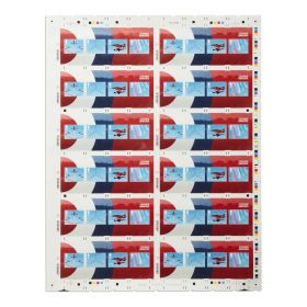 Pz033 Royal Mail Raf Centenary Press Sheet