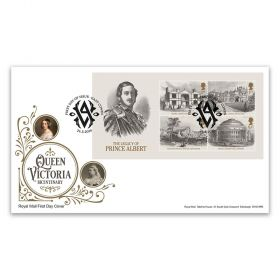 Queen Victoria Bicentenary Stamp Sheet Souvenir