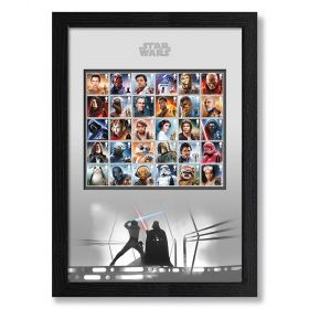 STAR WARS™ Framed Complete Stamp Set