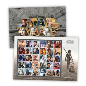 STAR WARS™ Complete Stamp Set Souvenir