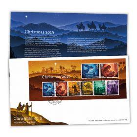 Christmas 2019 Stamp Sheet Souvenir