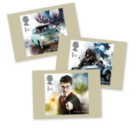 AQ269 Harry Potter Set of 16 Postcards