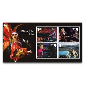 Elton John Miniature Sheet