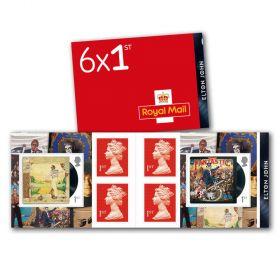 Elton John Retail Stamp Book