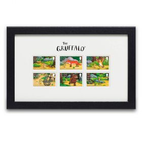 The Gruffalo Framed Stamps