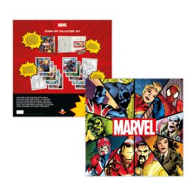 Royal Mail MARVEL Stamp Artwork Collector Set
