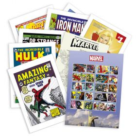Royal Mail Marvel Souvenir Folder