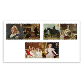 Queen Victoria Bicentenary Set of Six Stamps
