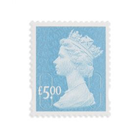Royal Mail 50 x 5.00 Self Adhesive Stamp Sheet