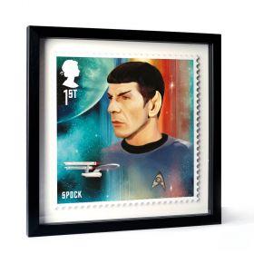 Star Trek Framed Enlarged Print - Spock