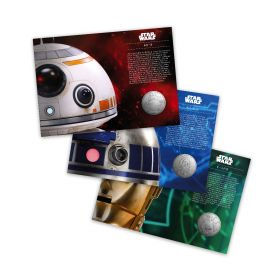 Royal Mail STAR WARS Medal Cover Bundle