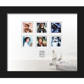 STAR WARS™ 40th Anniversary Framed Stamps