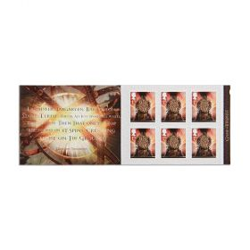 Royal Mail Game of Thrones 6 x 1st Class Stamp Book