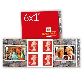 Coronation Street 6 x 1st Class Stamp Book