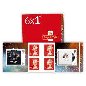 Queen 1st Class Stamp Book
