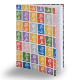 Vm028 Royal Mail A6 Notebook Multi Stamp 1