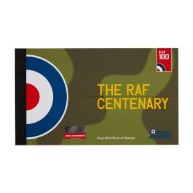Royal Mail Raf Centenary Standard Prestige Stamp Book 1