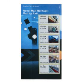 Royal Mail Heritage Mail By Rail Post and Go Stamp Set