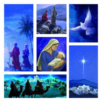 Religious Story Pack of 10 Charity Christmas Cards