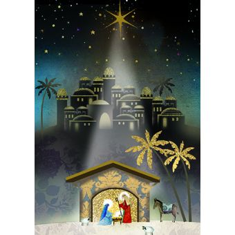 Love Shines Down Pack of 10 Charity Christmas Cards