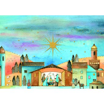 Bearing Gifts Pack of 10 Charity Christmas Cards