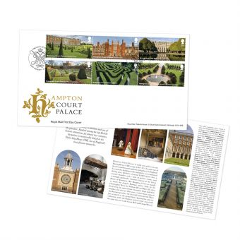 Hampton Court First Day Cover Alternative Postmark