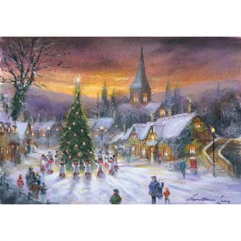 Christmas Carols Pack of 10 Charity Christmas Cards