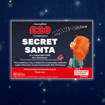 Secret Santa £20 Charity Gift