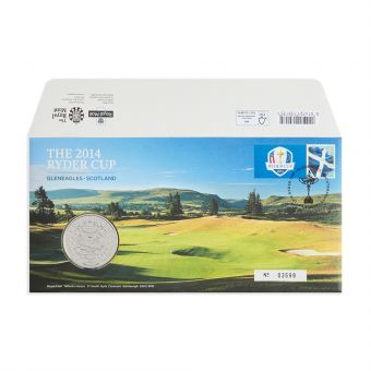 Royal Mail the 2014 Ryder Cup Medal Cover 1