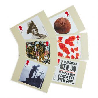Royal Mail First World War 1915 Postcards 6 In Set