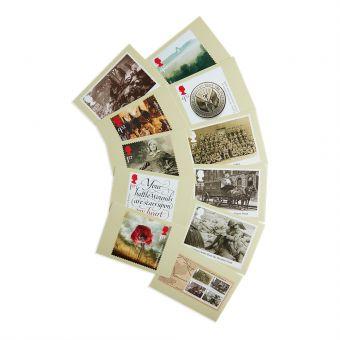 Royal Mail First World War 1916 Postcards 11 In Set