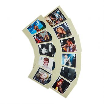 Royal Mail David Bowie Postcards Eleven In a Set